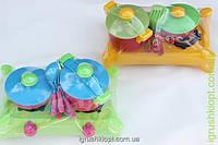 """Плита с посудой, 8 предметов """"Киндер Вей"""""""