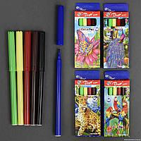 Фломастеры 8787006-6 / 555-720 (480) 4 вида, 6шт в упаковке, 6 цветов