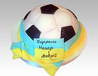 """Детский торт """"Футбольный мяч"""" 2 кг"""