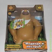 """Интерактивная игрушка """"Медведи и лесоруб""""рус.язык, песни, сказки"""