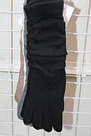Длинные вязаные перчатки оптом