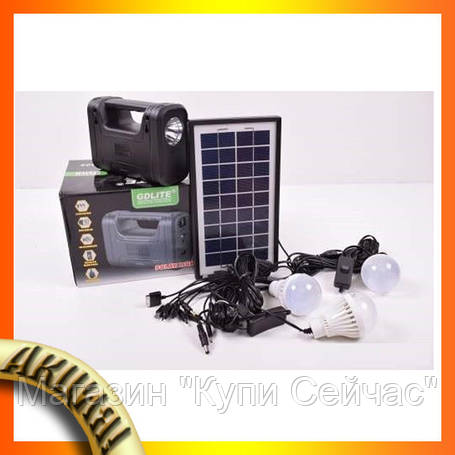 Портативная универсальная солнечная система GD-8028!Акция, фото 2