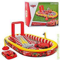 Игровой центр ТЧ, горка, душ, надув плот 2 шт, рем компл, в кор-ке, INTEX
