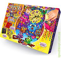 """Часы из кристаллов """"Совушки"""", DankO toys"""