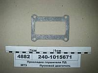 Прокладка глушителя ПД Д-50, Д-240 (пр-во Лозовая) 240-1015671