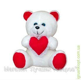 Мягкая игрушка Медвежонок с сердцем, Золушка