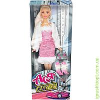 """Кукла Ася """"Городской стиль"""", блондинка, вариант 3, PS"""