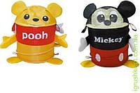 Корзина для игрушек 2 вида микс, товар(42*30) в сумке со змейкой