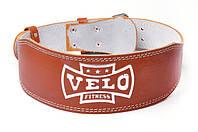 Пояс штангиста кожа узкий (10см) Velo VLS-17026