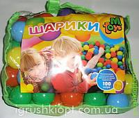 Игровой набор Шарики, 80 мм-мягкие, 100шт в сумке M.Toys