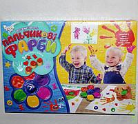 Пальчиковi фарби, 7 кольорiв, бол, DankO toys