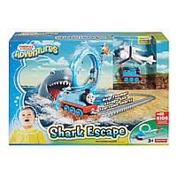 Железная дорога Томас бег от акулы Fisher-Price Thomas and friends Adventures Shark Escape