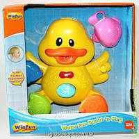"""Игрушка детская """"Уточка"""" для купания"""