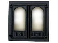 Дверца для камина двустворчатая 401