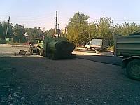 Укладка дорожными механизмами