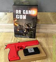 Пистолет Т-84, красный и черный, Bluetooth 3D VR игры