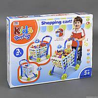 """Игровой набор 008-902 А """"Супермаркет"""" (10) тележка с продуктами, играет мелодия, светится, в коробке"""