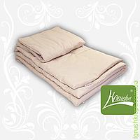 Комплект шерсть одеяло + подушка 110 х 140 (цв.бежевый)