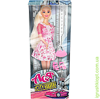 """Кукла Ася """"Городской стиль"""", блондинка, вариант 1, PS"""
