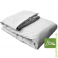 Комплект шерсть одеяло + подушка 90 х 120 (цв.белый)