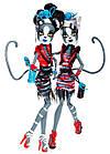 Мяулодия и Пурсефона Зомби Шейк (Monster High Zombie Shake Meowlody and Purrsephone Doll), фото 2