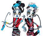 Мяулодия и Пурсефона Зомби Шейк (Monster High Zombie Shake Meowlody and Purrsephone Doll), фото 4