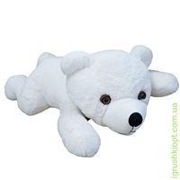 Мягкая игрушка Медведь Соня большой белый, Золушка
