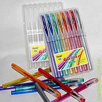 Ручки цветные с блестками 919-8, 8шт