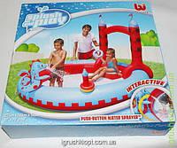 Игровой центр Замок Дракона, для детей 3-6 лет, с душем