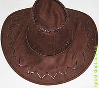 Замшевая шляпа ковбоя, 3 вида