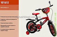 """Велосипед 2-х колес 16 """"Спринтер-Спорт"""" черно-красный"""