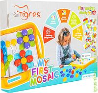 """Развивающая игра """"Моя первая мозаика"""", Тигрес"""