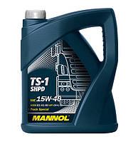 Моторное масло  Mannol TS-1 SHPD 15W-40 (5L)