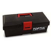 Ящик для инструмента  2 секции (пластик) 380(L)x178(W)x143(H)mm  Toptul TBAE0201 (Тайвань)