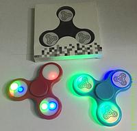 Спиннеры светящиеся 3 кольца, 3 режима, включаются от сенсора