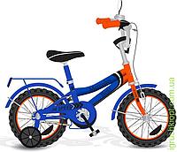 Велосипед 2-х колес 18'' 171835 со звонком, зеркалом, руч.тормоз