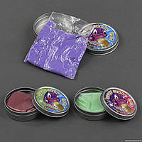 Жвачка для рук С 23192 /ЦЕНА ЗА 1 ШТУКУ/ (360) 3 цвета, меняет цвет от тепла рук, 50 грамм, 12шт в упаковке