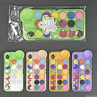 Краски для рисования 2318-18 / 555-536 (72) 4 вида, 18 цветов