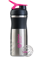 Шейкер BlenderBottle SPORTMIXER Stainles Steel 820ml Pink