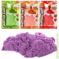 Песок для творчества 1000г, блеск, 4 цвета, в кульке