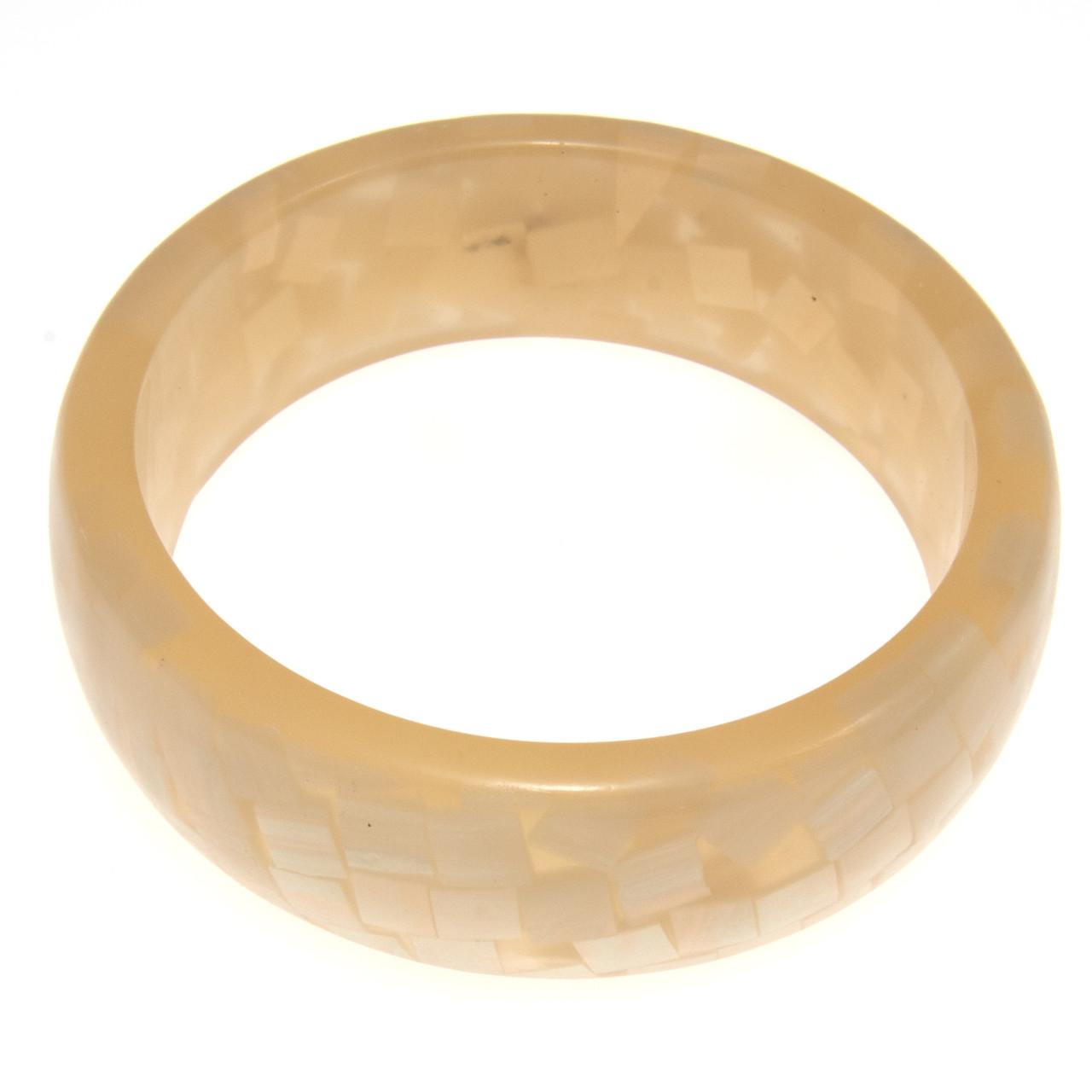 Браслет золотой пластиковый B001777