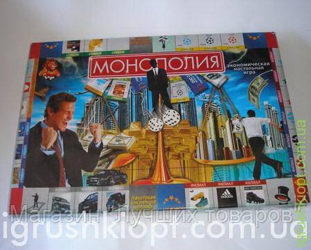 """Экономическая настольная игра """"Монополия"""" Dankotoys"""
