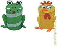 Корзина для игрушек товар (48*36) 2 вида микс в сумке со змейкой
