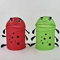 Корзина для игрушек А 01484 (50) 2 цвета, в кульке