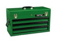 Ящик для инструмента  3 секции 508(L)x232(W)x302(H)mm Toptul TBAA0303 (Тайвань)