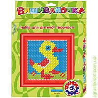 Іграшка набір для дитячої творчості «Вишиваночка ТехноК» Уточка