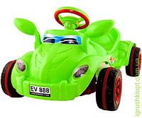 """Машина педальная """"Молния""""- красная, синяя, зелёная, KW"""