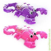 Скорпион светится спинка, 2 цвета