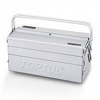 Ящик для инструмента 5 секций 470(L)x220(W)x350(H)mm  Toptul TBAC0501 (Тайвань)