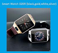 Смарт часы Smart Watch DZ09 (black,gold,white,silver)!Акция
